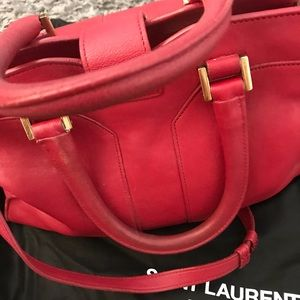 48cd84b0425 Yves Saint Laurent Bags - Authentic Red Yves Saint Laurent Cabas Chyc Bag